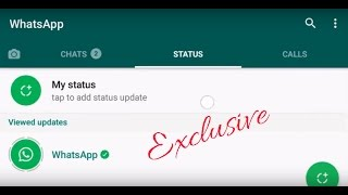 WhatsApp new status feature- Here is How to post status and delete them! FEB 24,2017(WhatsApp new status story feature - How to use it... WhatsApp has introduced its new status story feature to mark its 8 th birthday. To get this, you don't need to ..., 2017-02-24T00:44:57.000Z)