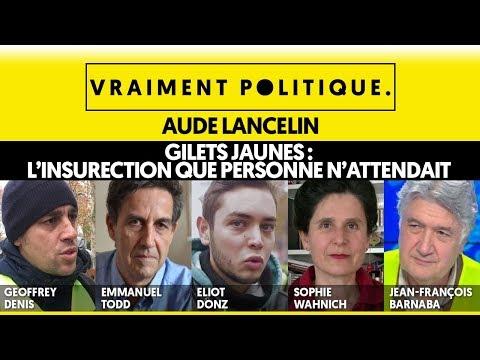 GILETS JAUNES : L'INSURRECTION QUE PERSONNE N'ATTENDAIT - VRAIMENT POLITIQUE