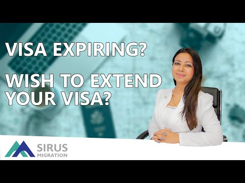 VISA EXPIRING? WISH TO EXTEND YOUR VISA?