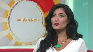 Helly Luv on Good Morning Finland show / Huomenta Suomi