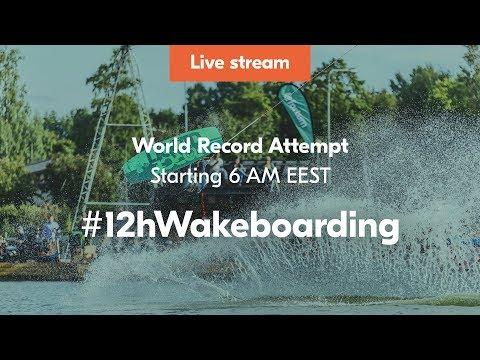 #12hWakeboarding – World Record Attempt by Erkka Lehtonen