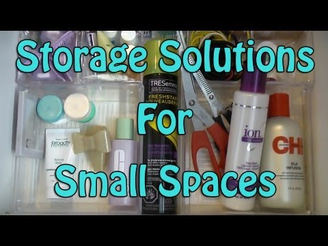Quick easy storage solutions for small spaces youtube - Storage solutions for small spaces cheap photos ...