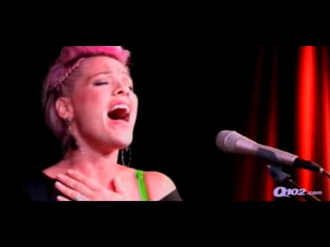 [FULL] P!nk - Who Knew + Perfect performance + interview in Philadelphia, Q102 radio