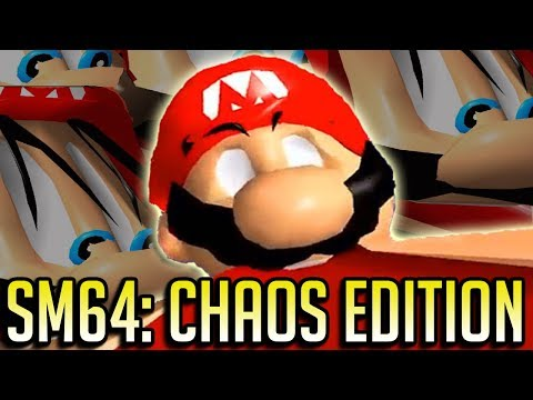 Super Mario 64: Chaos Edition Is Your Brain On Digital Drugs