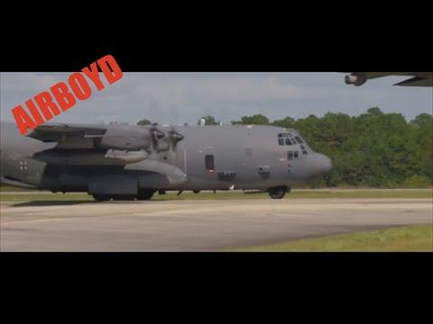AC-130 Live Fire Training Flight Over Florida