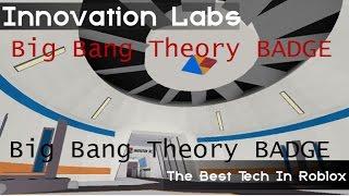Roblox Innovazione Big Bang Teoria [Badge]