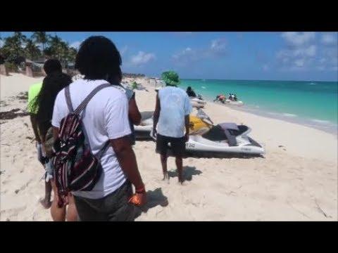 Jet Skiing in Nassau, Bahamas || Vlog