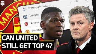 Can Solskjaer Get Top 4 For Manchester United? | Man Utd News