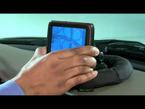 Bracketron's Nav-Mat Portable GPS Dash Mount -- Features & Installation