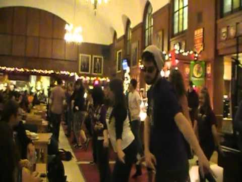 Flash Mob, Dining Hall, Memorial University 2010