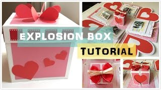 DIY | Explosion Box Full Turorial