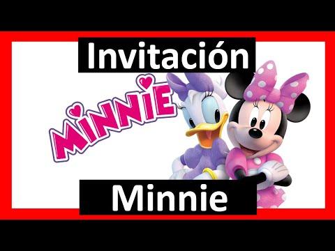 Video Invitación Minnie Whatsapp Digital