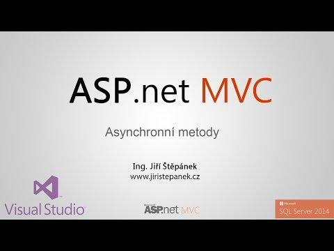 ASP.net MVC Tutorial druhá série 03 - async/await