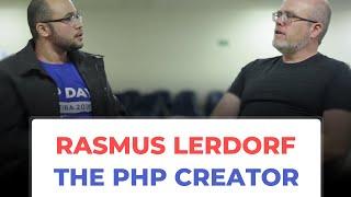 Rasmus Lerdorf Interview - PHP Day Curitiba 2018 (Brazil)