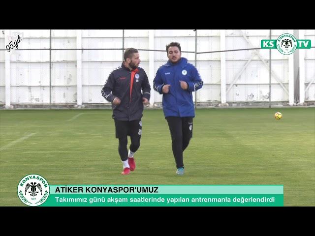 Takımımız yaptığı çalışma ile Bursaspor maçı hazırlıklarını sürdürdü
