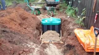 видео Септик танк: монтаж и устройство, инструкция по установке своими руками