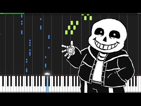 Megalovania - Undertale [Piano Tutorial] (Synthesia