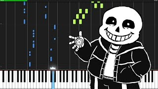 Megalovania - Undertale [Piano Tutorial] (Synthesia) thumbnail