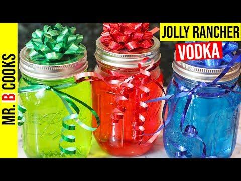 Jolly Rancher Vodka | Mason Jar Alcoholic Drinks | Mixed Drinks (EASY!)