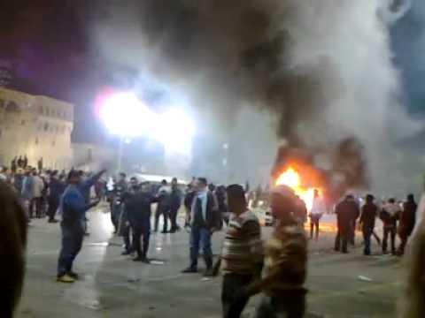 המהומות מגיעות גם ללוב