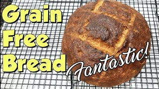 Grain Free Bread - Amazingly Good!!