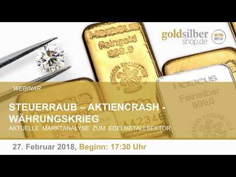 Steuerraub, Aktiencrash, Währungskrieg – Webinar mit M. Blaschzok (27.02.2018) HD