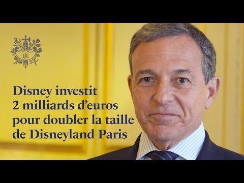 Robert Iger annonce la Reine des Neiges, Star Wars et Marvel à Disneyland Paris |#ChooseFrance