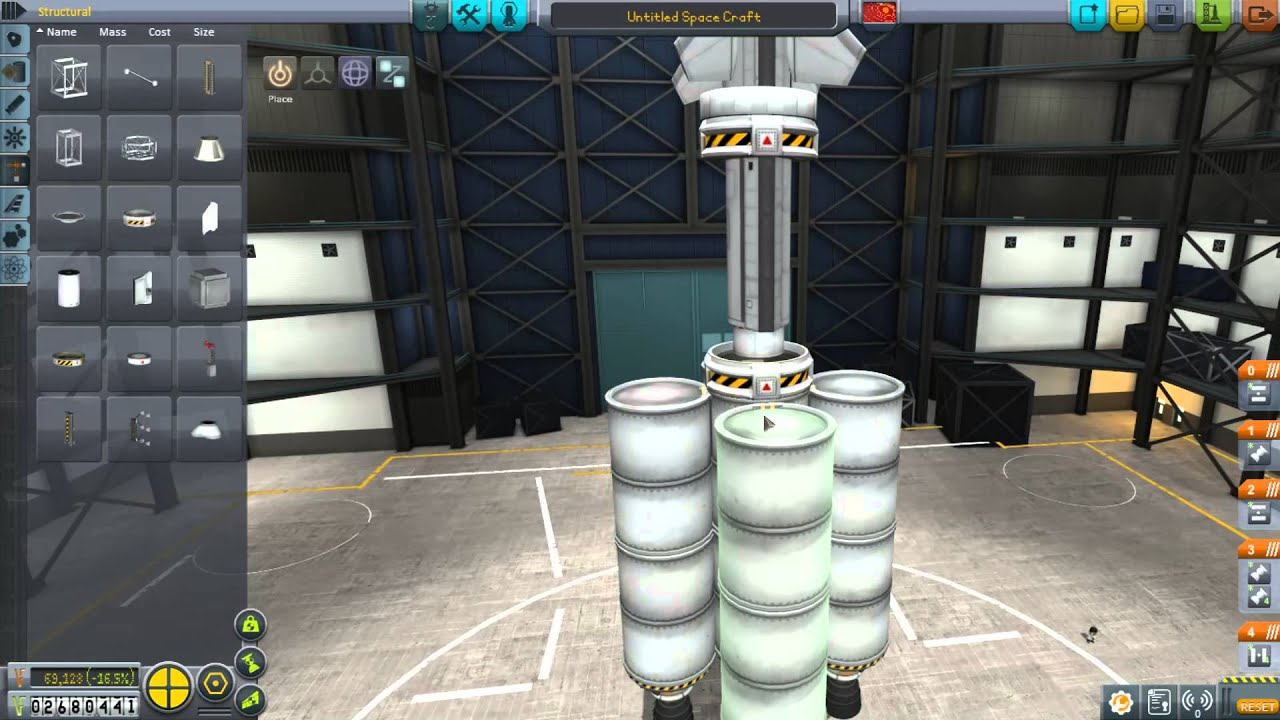 how to build a kerbal space ship
