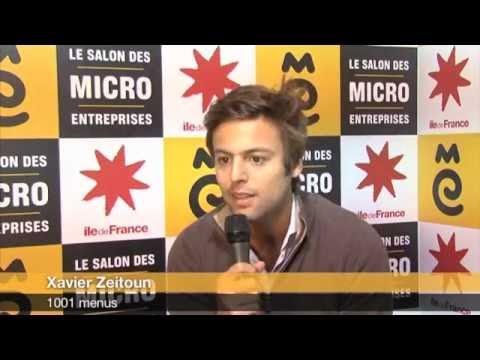 Xavier zeitoun 1001 menus au salon des micro entreprises 2012 youtube - Salon des micros entreprises ...