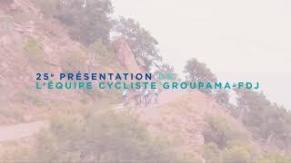 Générique - Présentation officielle de l'Équipe cycliste Groupama-FDJ
