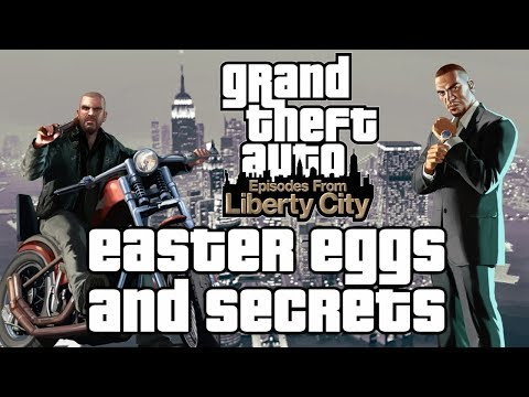GTA IV: Episodes From Liberty City All Easter Eggs And Secrets