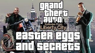 Grand Theft Auto IV: Episodes From Liberty City Easter Eggs And Secrets HD