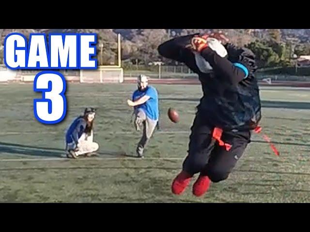 BLOCKING KICKS WITH FARTS! | On-Season Football Series | Game 3