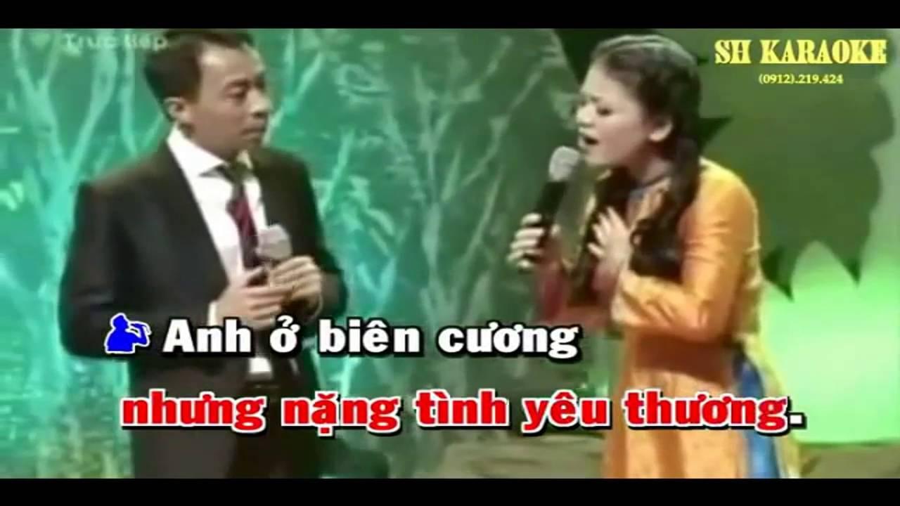 Karaoke - Gửi em ở cuối sông hồng - [Beat chuẩn] - Yeucahat.mobi
