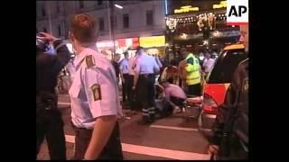 DENMARK: FOOTBALL HOOLIGAN VIOLENCE