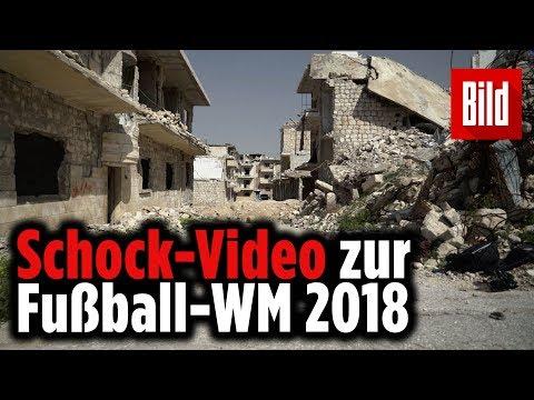 Schock-Video zur Fußball-WM in Russland