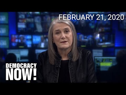 Top U.S. & World Headlines — February 21, 2020