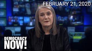 Top U.S. & World Headlines — February 21, 2020