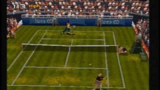 Tennis Arena - Sega Saturn