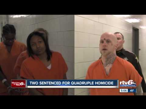 Two Sentenced In Indy Quadruple Homicide