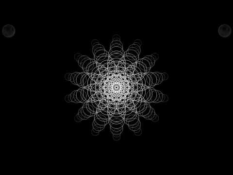 transient - live at natural method yoga studio (relaxing ambient with geometric visualization)