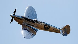 Silver Spitfire sets off for round-the-world flight