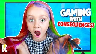 HAIR Scare! Gaming with Consequences 5 | KidCity
