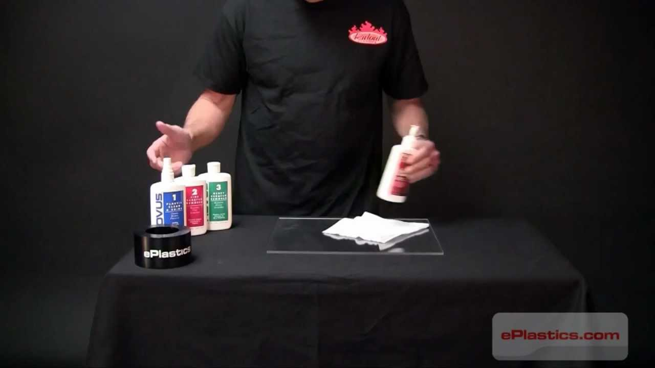 How To Clean Plexigl Acrylic Without Scratching