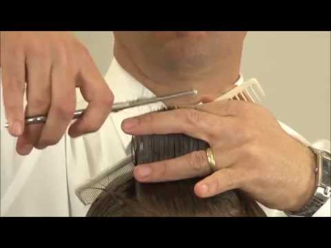 Cutting Men's Hair With Thinning Shears