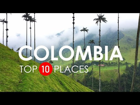 Top 10 Beautiful Places to Visit in Colombia - Colombia Travel Video