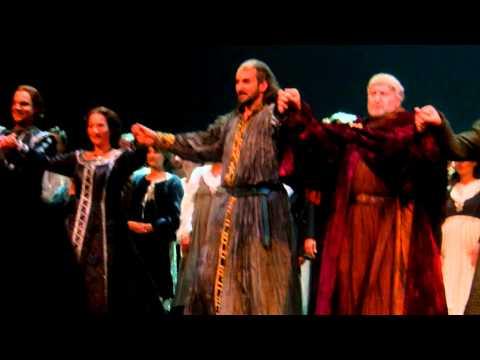 Simon Boccanegra-(Verdi)  Nice Opera House, 24 Oct 2012. Curtain calls.