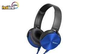 Обзор наушников Sony MDR-XB450AP