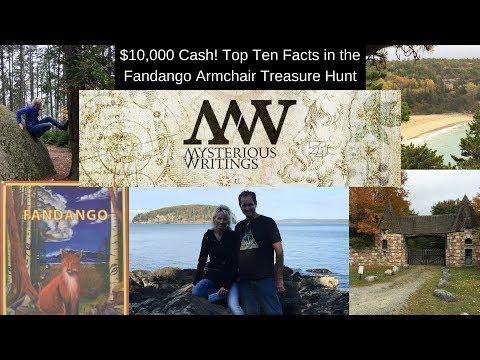 Find $10,000 Cash Treasure: Top Ten Facts On The Fandango Armchair Treasure Hunt
