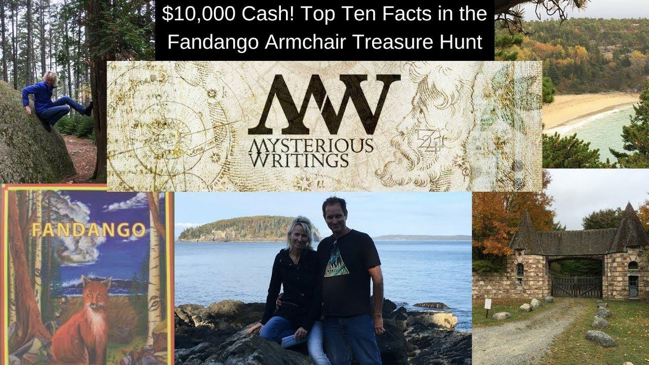 Find 10 000 Cash Treasure Top Ten Facts On The Fandango Armchair